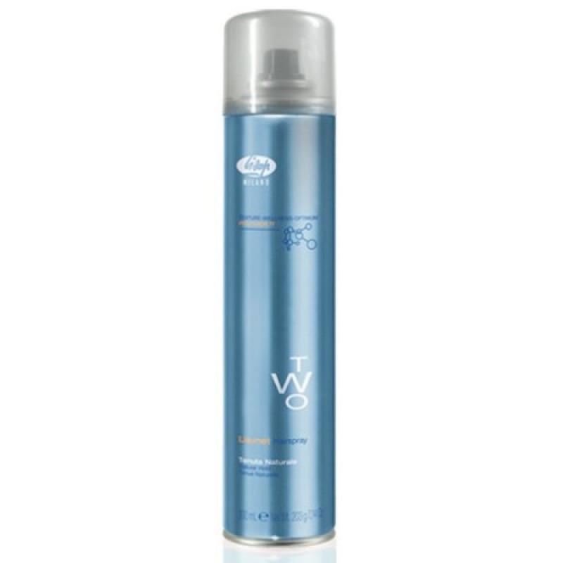 Лак для укладки волос без газа нормальной фиксации Lisynet Two Eco Natural Hold LISAP MILANO