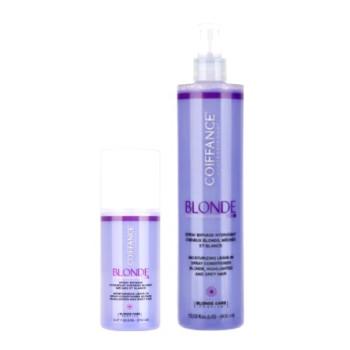 Двухфазный увлажняющий спрей для светлых,обесцвеченных и седых волос COIFFANCE