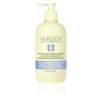 Несмываемый восстанавливающий комплекс для ослабленных, окрашенных и завитых волос B3 TRATTAMENTO SENZA RISCIACQUO Hergen BES