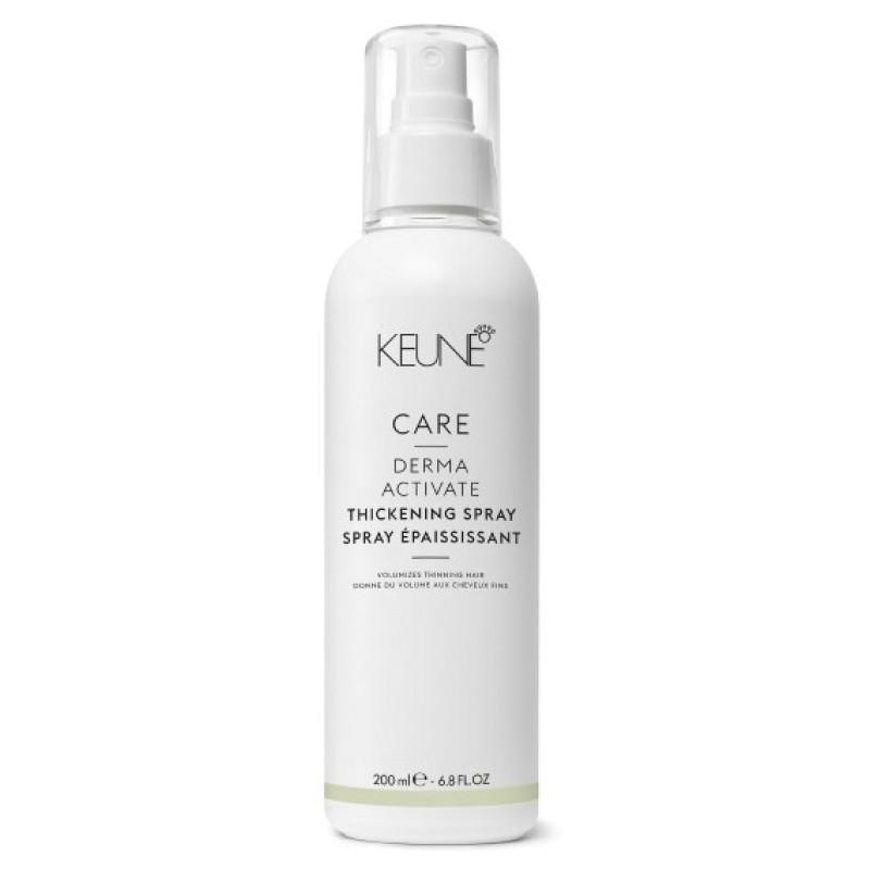 Укрепляющий спрей против выпадения волос CARE Derma Activate Thickening Spray KEUNE