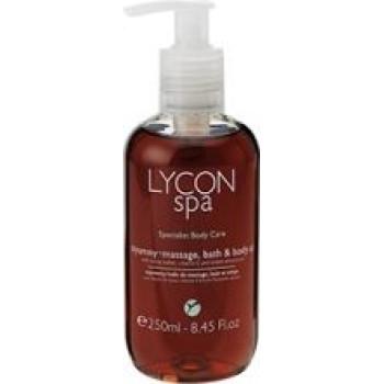 Масло для ванны и массажа с Витамином Е и маслами Какао и Сладкого Миндаля LYCON