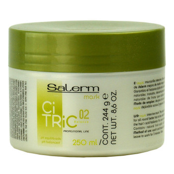 Маска для окрашенных волос Mask Citric Balance Salerm (Салерм)