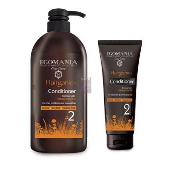 Кондиционер с маслом облепихи для тонких, ломких и окрашенных волос EGOMANIA