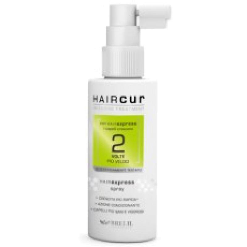 HAIR CUR INTENSIVE TREATMENT HC HAIREXPRESS SPRAY Спрей-сыворотка для ускорения роста волос BRELIL PROFESSIONAL