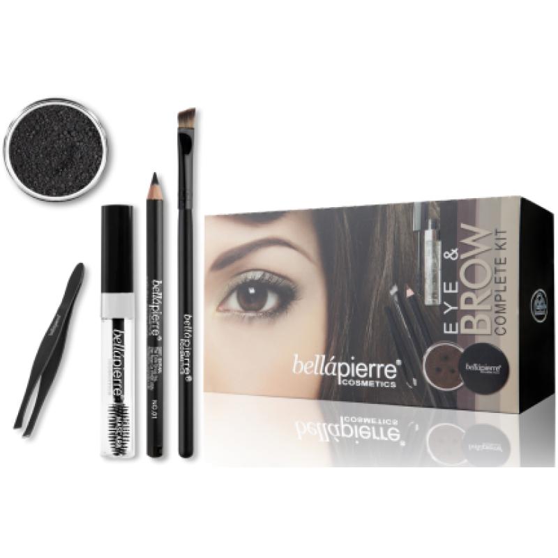 Набор для макияжа глаз и бровей Eye & Brow Complete Kit - Marrone BELLAPIERRE