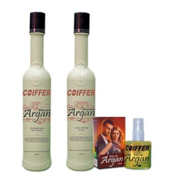 Набор разглаживание и увлажнение волос Argan COIFFER