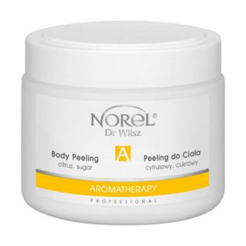 Очищающий цитрусовый сахарный пилинг для тела на основе овощного и фруктового масла /Citrus sugar body peeling - Aromatherapy NOREL DR.WILSZ