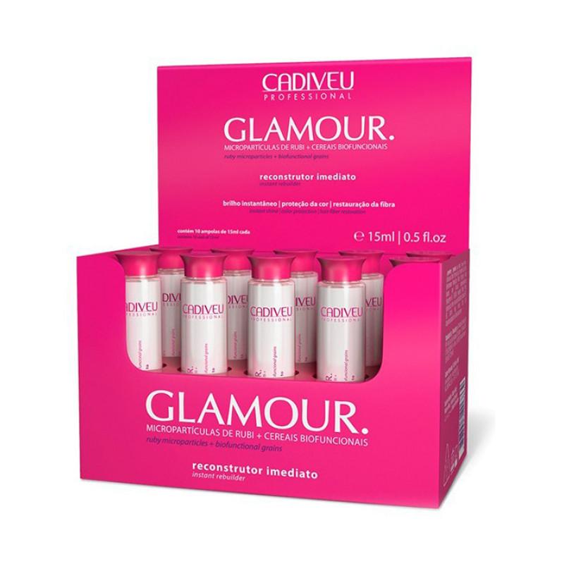 Восстанавливающие ампулы Glamour Plus Instant Rebuilder Vial CADIVEU