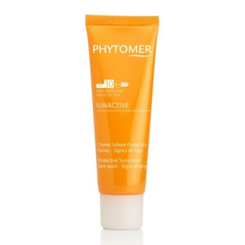 Солнцезащитный крем от пигментных пятен SPF 30 PHYTOMER SUNACTIVE Protective Sunscreen Dark spots SPF 30 PHYTOMER