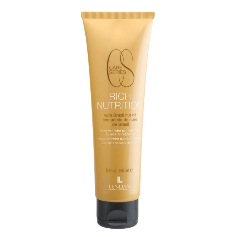 Крем для сухих и поврежденных волос Intensive hydro-nutritive cream Rich Nutrition LENDAN