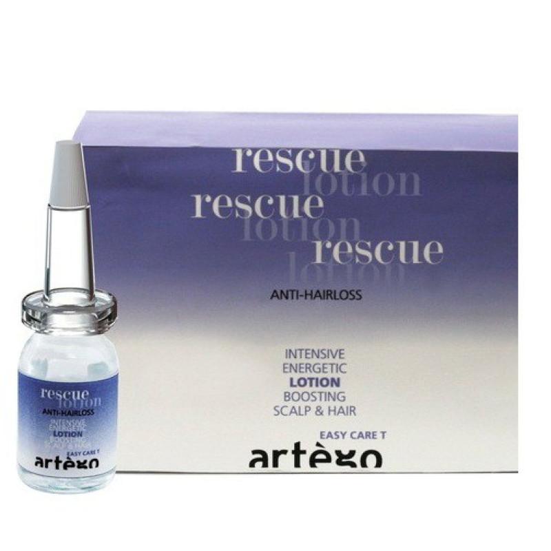 Ампулы от выпадения волос Rescue lotion ARTEGO