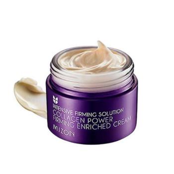 Обогащенный крем для лица с коллагеном Collagen Power Firming Enriched Cream MIZON