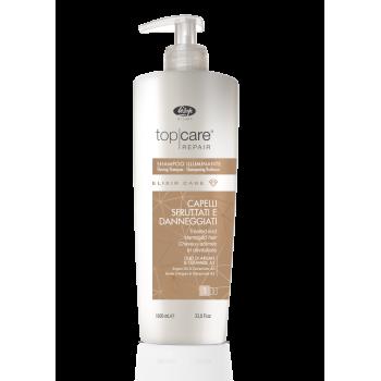 Шампунь-эликсир для восстановления и придания сияющего блеска Top Care Repair Elixir Care Shampoo LISAP MILANO