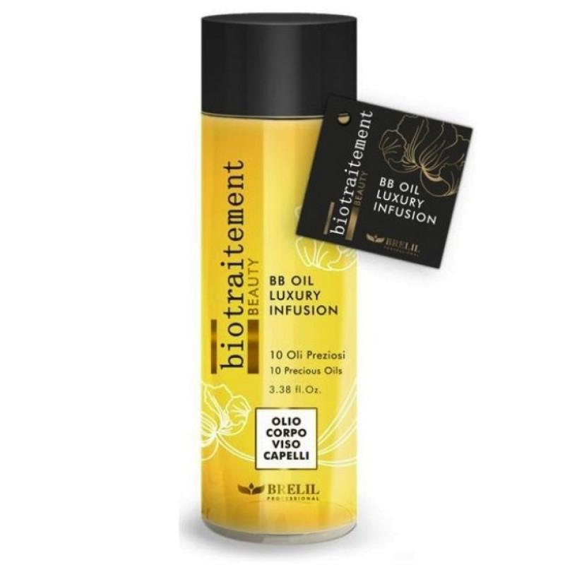 BB OIL LUXURY INFUSION Многофунциональное масло для волос, лица и тела BRELIL PROFESSIONAL