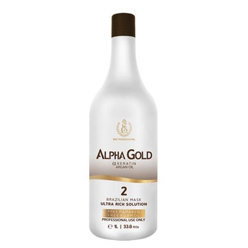 Кератин для волос profissional keratin Alpha Gold ESK PROFESSIONAL