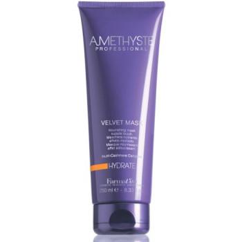 Питательная маска для сухих и ослабленных волос Amethyste hydrate velvet FARMAVITA