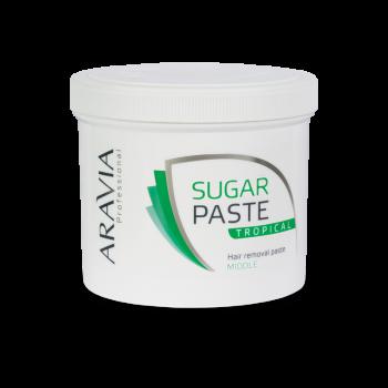 ARAVIA Professional Сахарная паста для депиляции 'Тропическая' средней консистенции