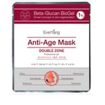 Омолаживающая лифтинг-маска для лица и глаз Beta-Glucan BioGel 1% Anti-Age Mask EVERYANG