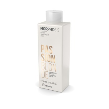 Шампунь для теплых оттенков светлых волос MORPHOSIS Passion Blonde FRAMESI
