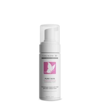 Очищающая пенка для всех типов кожи PURE SKIN MEDICAL COLLAGENE 3D