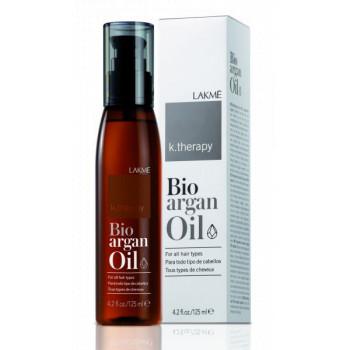 Аргановое масло для увлажнения и ухода за волосами K.Therapy Bioagran Oil LAKME
