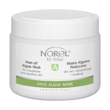 Альгинатная маска на основе морских водорослей и витамина С для чувствительной кожи с куперозом /Peel-off algae mask for sensitive and couperose skin with vit. C NOREL DR.WILSZ