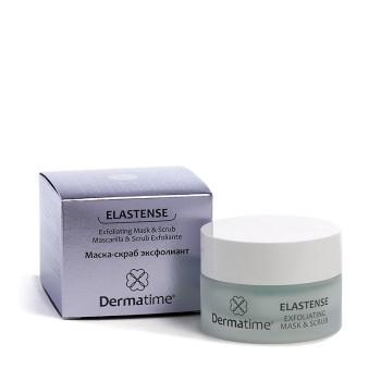 Маска-скраб эксфолиант ELASTENSE Exfoliating Mask & Scrub DERMATIME