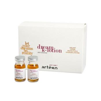Кератиновые ампулы для восстановления волос Dream lotion ARTEGO