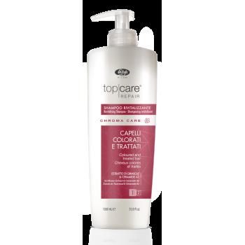 Оживляющий шампунь для окрашенных волос - Top Care Repair Chroma Care Revitalizing Shampoo LISAP MILANO