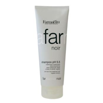 Специальный шампунь для мужчин Farmavita Noir Shampoo ph 5.5 FARMAVITA
