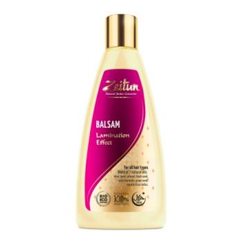 Бальзам для волос 'С эффектом ламинирования' для тонких и хрупких волос ZEITUN