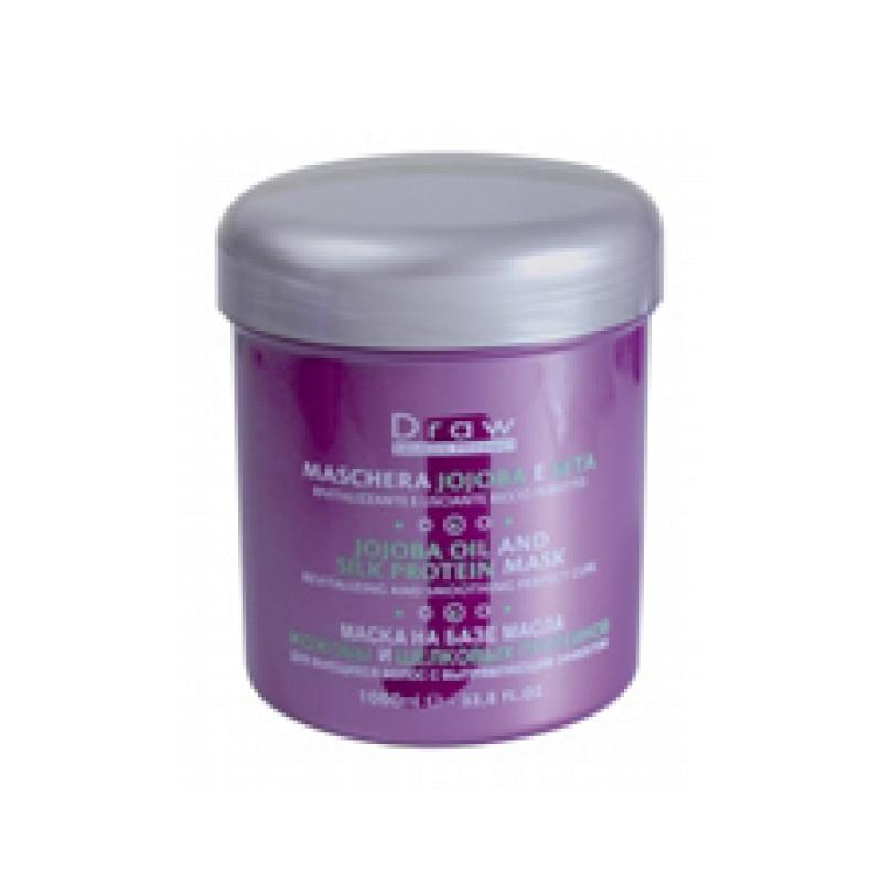 Draw Маска на основе масла жожоба и шелковых протеинов для волос JOJOBA OIL AND SILK PROTEI PUNTI DI VISTA