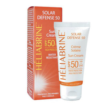 Солнцезащитный крем 50 - GPS(SPF 50 UVB/UVA) Solar Defense 50 HELIABRINE