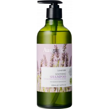 Шампунь для волос успокаивающий Лаванда AUSGANICA