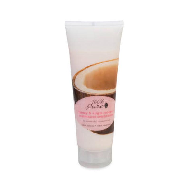 Кондиционер для волос тонизирующий Мед и Молодой Кокос Honey & Virgin Coconut Restorative 100% PURE