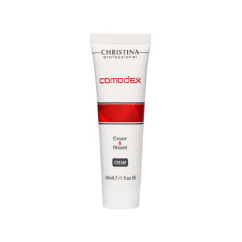 Comodex Cover & Shield Cream SPF 20 - Защитный крем с тоном SPF 20 CHRISTINA