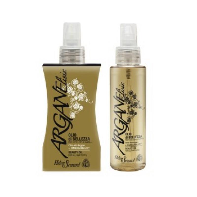 ARGAN ELISIR oil Аргановое ухаживающее масло для всех типов волос HELEN SEWARD