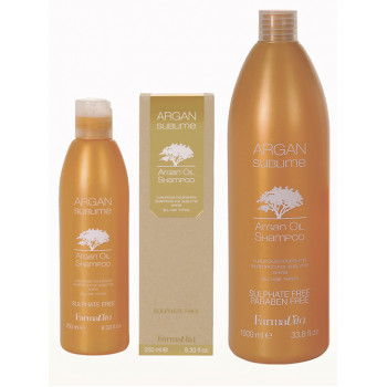 Шампунь с аргановым маслом ARGAN Sublime SHAMPOO FARMAVITA