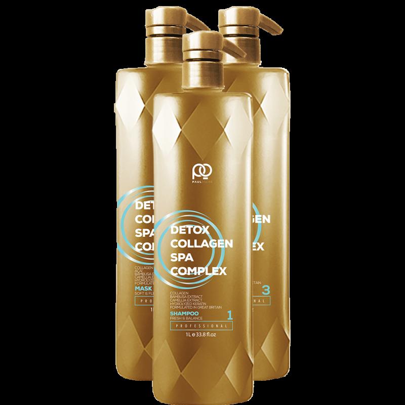 Набор Collagen Detox SPA Complex MINI PAUL OSCAR