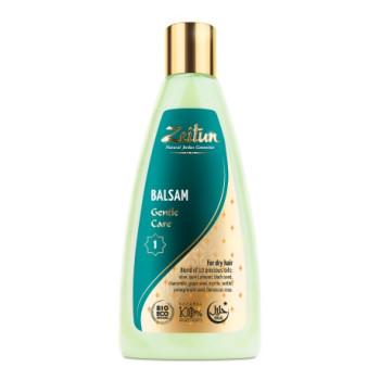 Бальзам для волос Нежный уход для сухих волос с медом и 10 маслами ZEITUN