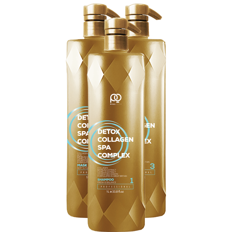 Набор Collagen Detox SPA Complex MAX PAUL OSCAR