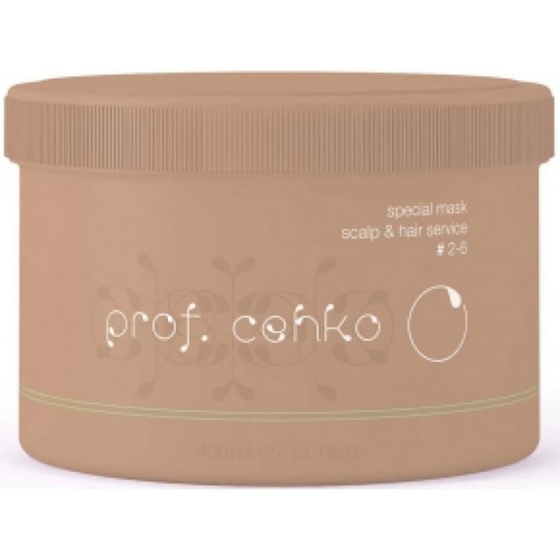 Cпециальная маска для ухода за кожей головы и волосами Special mask scalp & hair service CEHKO