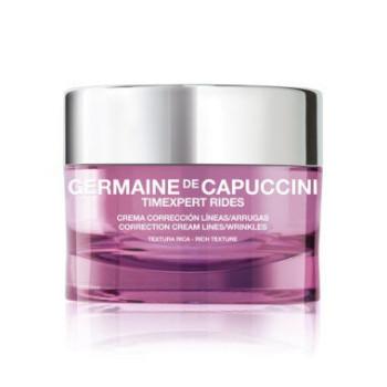 Крем корректирующий насыщенный для сухой кожи TE Rides Cor Cream Line and Wrink GERMAINE DE CAPUCCINI