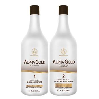 Профессиональный набор кератина Alpha Gold ESK PROFESSIONAL