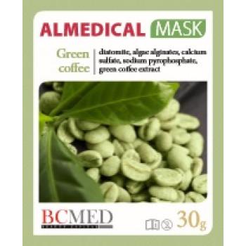 Альгинатная маска 'Зеленый кофе' Mask Green coffee ALMEDICAL