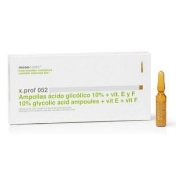 Glycolic acid 10% + vit. E x.prof 052 10% гликолевая кислота с витамином Е Mesoestetic