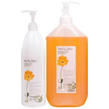Шампунь абрикос Back Bar Apricot Shampoo FARMAVITA