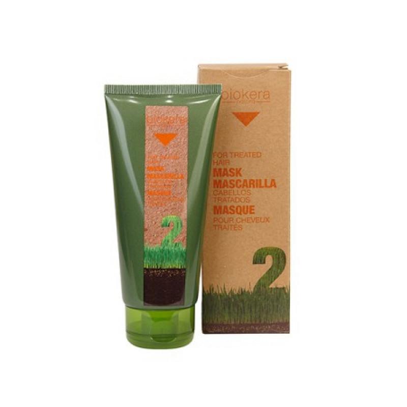 Mascarilla cabellos tratados маска для поврежденных волос BIOKERA Salerm (Салерм)