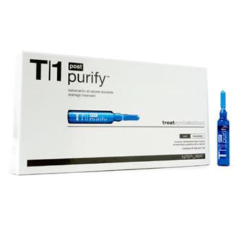 Purify Post ampoule T1 Ампулы для биологического очищения после шампуня.Detox NAPURA