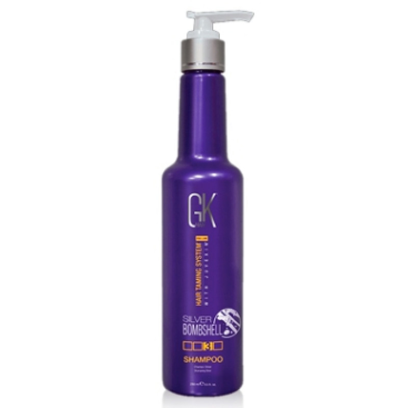 Серебряный шампунь Silver shampoo GLOBAL KERATIN